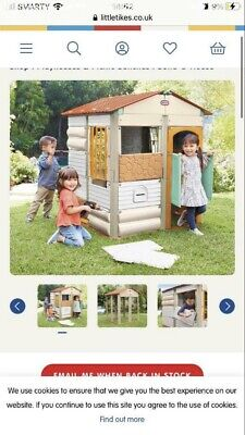 £85 • Buy Little Tikes Build A House Play House Wendy