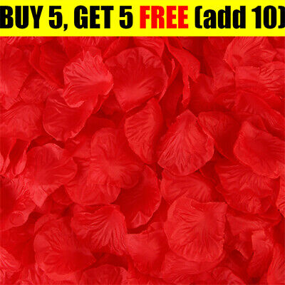 £1.59 • Buy Valentines Silk Rose Petals Flower Table Decorations Confetti Engagement Party