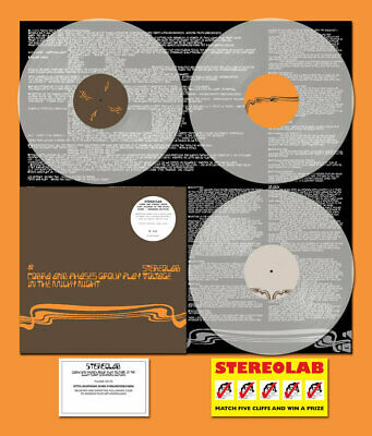 £49.99 • Buy STEREOLAB ~Cobra And Phases Group Play Voltage In The Milky Night 3x Clear Vinyl