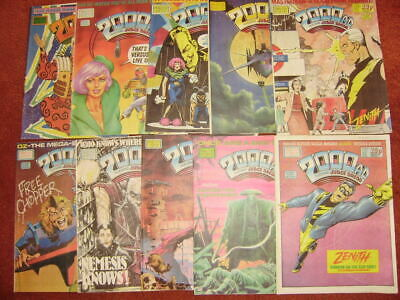 £10.99 • Buy 2000ad Collection Progs 540-549 -good Condition