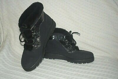 £15.99 • Buy Rohde Black SympaTex Waterproof And Warm Laced Ankle Boots. Size 5