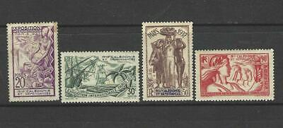 £2 • Buy New Caledonia 1937 Paris Exhibition Stamps - Sg 211-2 214-5  Good Mounted Mint