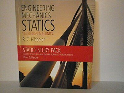 £8.99 • Buy Engineering Mechanics Statics 11th Edition In SI Units:S... By Russell, Hibbeler