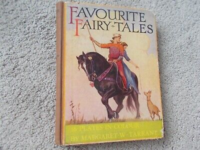 £12 • Buy MARGARET W TARRANT - FAVOURITE FAIRY TALES 1955 Hardcover 16 Illustrated Plates
