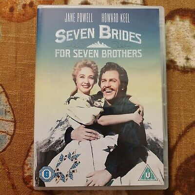 £2.50 • Buy Seven Brides For Seven Brothers Dvd