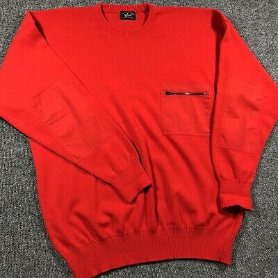 $69.99 • Buy Paul Shark Yachting Wool Blend Sweater Military Commando Pullover Crew Jumper XL