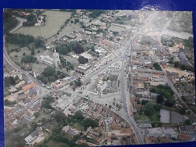 £1.40 • Buy Swaffham Market Place From Air Postcard