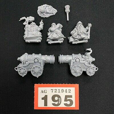£24.95 • Buy Dwarf Cannon With Crew Battle For Skull Pass Warhammer Aos Dwarfs