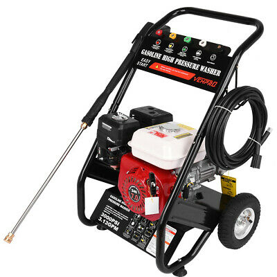 £219.89 • Buy VEHPRO Petrol Power Pressure Jet Washer 3000PSI 7HP Engine With G-un Hose