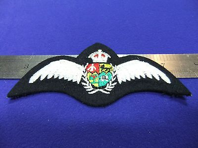 £12 • Buy Badge Raf Pilot Wings Padded Brevet Saaf South Africa Cloth Patch Air Force