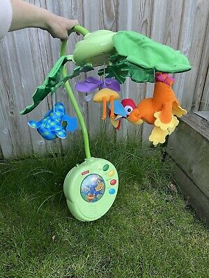 £15 • Buy Fisher Price Rainforest Cot Mobile Musical Coll SW13