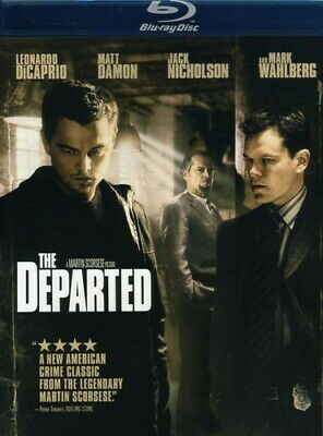 £4.28 • Buy THE DEPARTED - Leonardo DiCaprio BLU-RAY NEW/SEALED