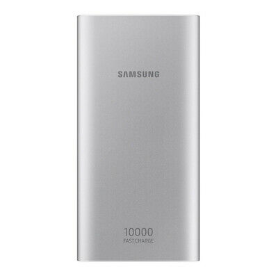 AU37.75 • Buy Samsung 10000mAh Type-C Fast Charge 15W 10.A 2Port Micro USB Battery Pack EB-P11