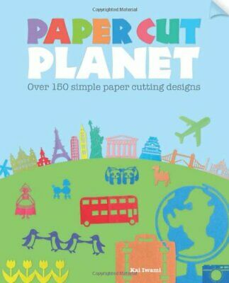 £3.99 • Buy Paper Cut Planet: Over 150 Simple Paper Cutting Designs By Iwami, Kai Book The