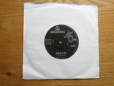 £5.99 • Buy Beatles - From Me To You / Thank You Girl Parlophone R 5015