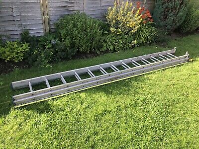 £65 • Buy Heavy Duty Extension Ladder, 3.6m Closed, 6.5m Extended, 2 X 13 Step Sections