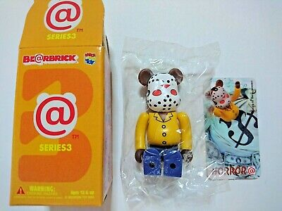 $20 • Buy Bearbrick Series3 Horror Jason With Card Friday The 13th