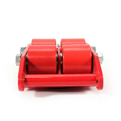 $58.90 • Buy Transport Machine Dolly Skate Roller Machinery Mover 13200lbs Rotation Cap SALE!