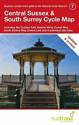 £35.99 • Buy Central Sussex & South Surrey Cycle Map 7 (Sustrans): Including T... By Sustrans