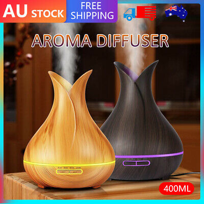 AU20.59 • Buy Ultrasonic Aroma Aromatherapy Diffuser Oil LED Electric Air Humidifier Essential