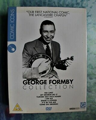 £6.99 • Buy George Formby Collection Vol.1 (DVD, 2007, 4-Disc Set, Box Set)
