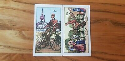 £1.35 • Buy 2 Kellogg's The Story Of The Bicycle Trade Cards