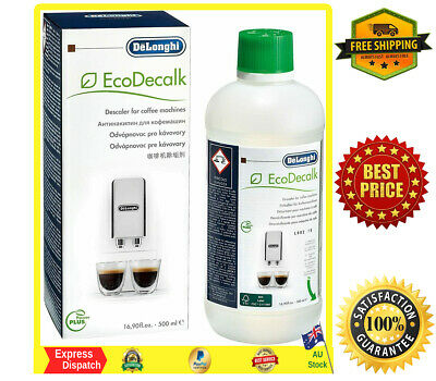 AU29.89 • Buy DeLonghi EcoDecalk, Natural Descaler For Coffee Machines 500ML Genuine