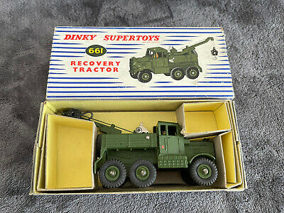 £70 • Buy Dinky Supertoys Toys 661 - Scammell Recovery Tractor - Original Boxed