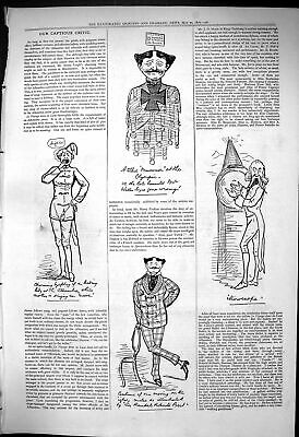 £16 • Buy Antique Old Print 1876 Captious Critic Theatre Olympic Randal Roberts Costume