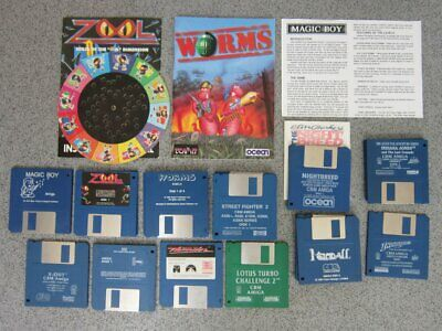 £3.95 • Buy 12 Commodore Amiga 500 Games Original Disk Only. Tested As Far As