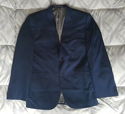 £4.90 • Buy Mens Taylor & Wright 44L Tailored Royal Navy Blue Blazer Suit Jacket