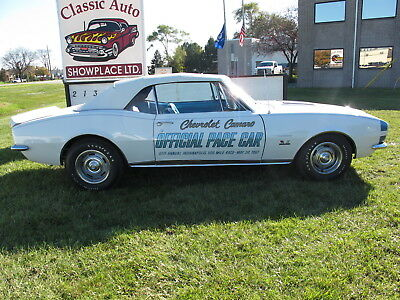 $30000 • Buy 1967 Chevrolet Camaro Pace Car 1967 Camaro Pace Car Convertible - 1 Of 11 Big Blocks To Go To Canada Documeted