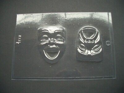 £5.15 • Buy 2 On 1 Comedy/tragedy Chocolate Mould/moulds/theatre/drama/cake Toppers/gift