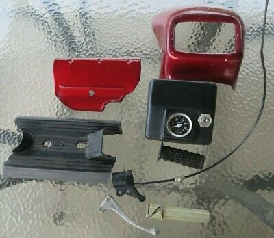 $9.95 • Buy Avanti Moped Parts Lot, Magura Throttle, Lever,Speedo,Ignition Sw,Covers,Faring