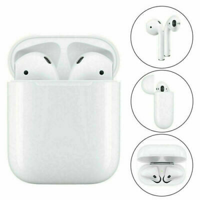 AU55.99 • Buy For Apple AirPods 2nd Generation Headphone With Wireless Charging Case White