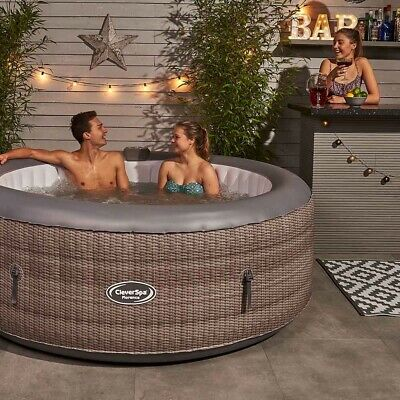 £595 • Buy CleverSpa Florence 6 Person Inflatable Hot Tub - BRAND NEW + FREE DELIVERY