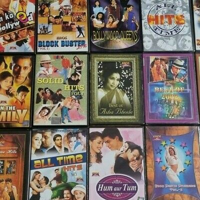 £40 • Buy INDIAN HINDI MOVIE SONGS COMPILATION DVDs BUNDLE NEW SEALED AS NEW BOLLYWOOD