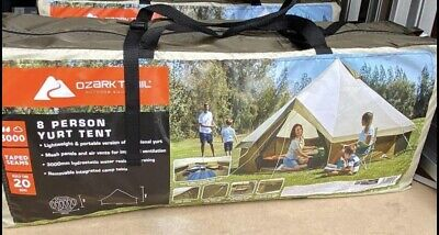 £169.95 • Buy Ozark Trail 8-Person Yurt 🏕Waterproof Glamping Festival Bell Tent Fast Delivery