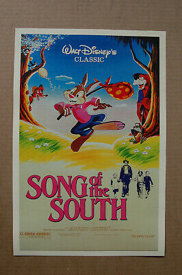 $ CDN4.99 • Buy Song Of The South Lobby Card Movie Poster