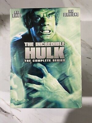 £28.61 • Buy The Incredible Hulk: The Complete Series (DVD) Brand New & Sealed