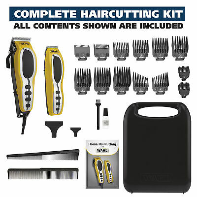 $49.97 • Buy Wahl Groom Pro Total Body Hair Cutting Set Clipper Grooming Trimmer 22 Pc Kit