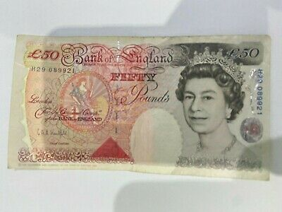 £49 • Buy Bank Of England £50 - Old UK FIFTY Pound Note Currency X 1. 1994.
