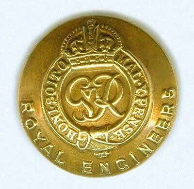 £1.35 • Buy Ww2 Royal Engineers Officers Small Gilt Button