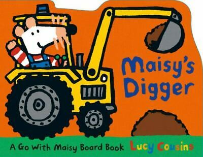 $4.09 • Buy Maisy's Digger : A Go With Maisy Board Book By Lucy Cousins