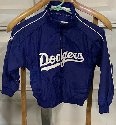 $35 • Buy Majestic Los Angeles Dodgers Authentic Collection Nylon Jacket Kids Size 5/6