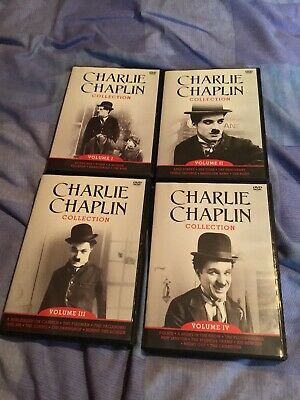 £5 • Buy Charlie Chaplin DVD Collection Volumes I - IV