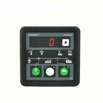 £39.99 • Buy Mains/Generation ATS Controller Automatic Transfer Switch Controller ATS220