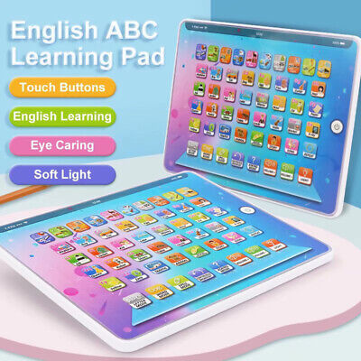 £10.59 • Buy Kids Toys Tablet Educational For 1-6 Years Toddler Learning English Baby Gift UK