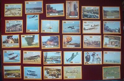 £24.99 • Buy BUBBLE GUM CARDS A&BC 1970 BATTLE Of BRITAIN CARDS (MISSING 29 & 61)