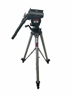 AU135.50 • Buy Manfrotto Bogen 3066 With 3068 Professional Tripod 2 Handles Missing Head Plate
